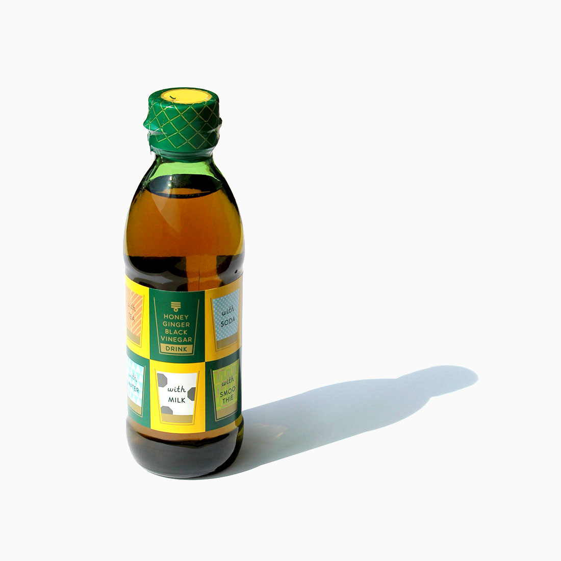 HONEY GINGER BLACK VINEGAR DRINK