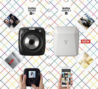 instax SQUARE TOUCH & TRY